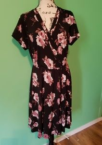 Torrid Floral Design Dress size 1(1X)